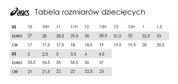 012343d5edd63 Tabela rozmiarów Asics - TrygonSport.pl - sport & street
